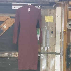 Royal Red Sexy Stage Ready Bodycon! Wet Seal XS